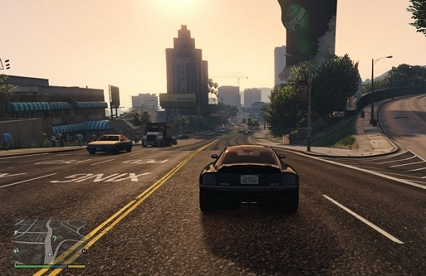 جذابیت بازی GTA v