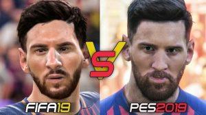 تفاوت چهره ها در فیفا و پی اس
