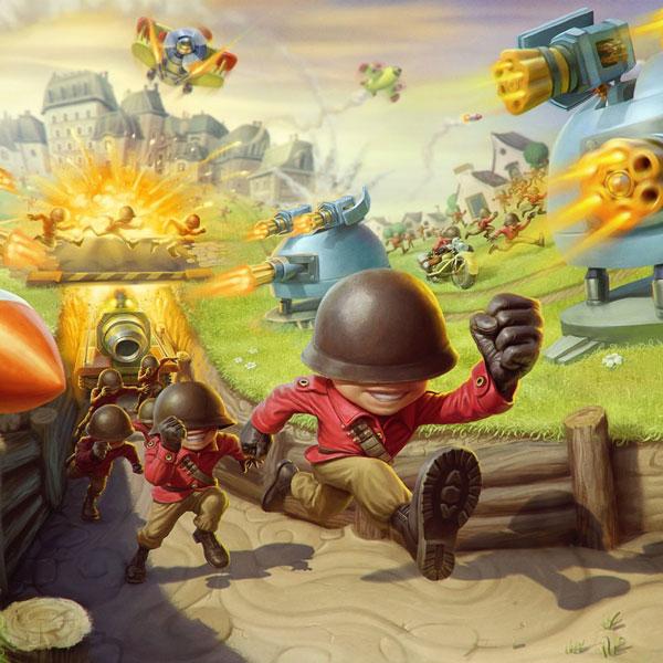 معرفی بازی استراتژی دفاعی Fieldrunners 2