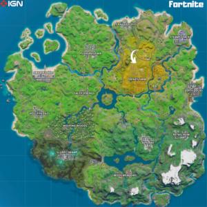 مکان های جدید نقشه فورتنایت