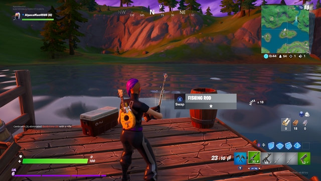 ماهیگیری اسلحه در فورتنایت 2