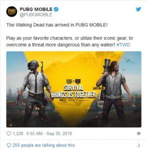 Walking Dead و پابجی موبایل